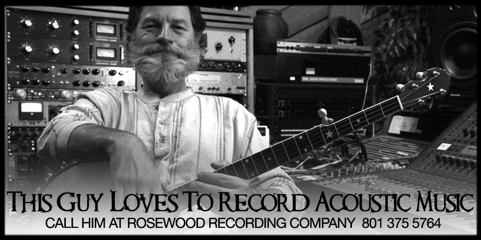 Guy Randle at Rosewood Recording Company