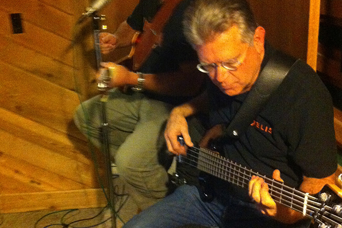 Bass Recording at Rosewood Recording Studio