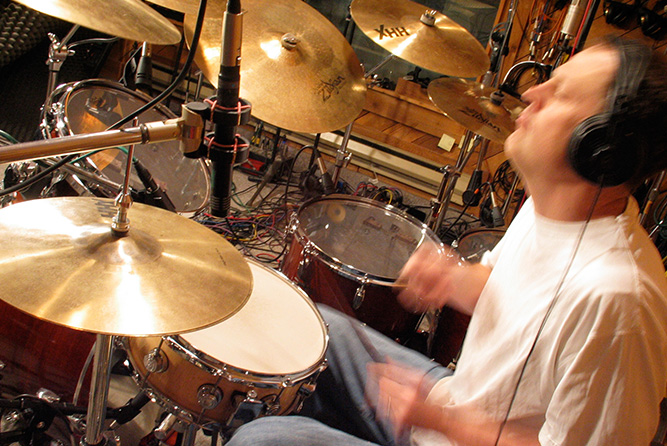 Drum Session Rosewood Recording Studio
