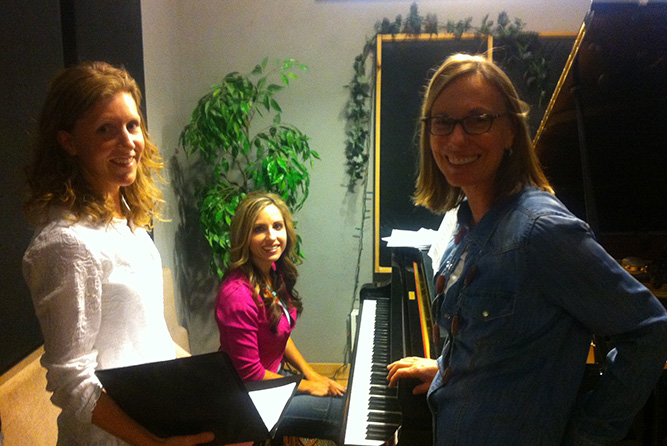 Piano and Vocal Session at Rosewood Recording Studio