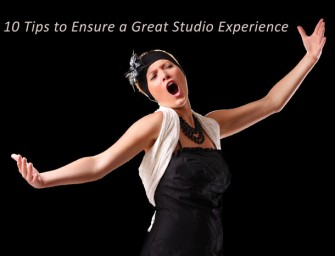 10 Tips to Ensure a Great Studio Experience